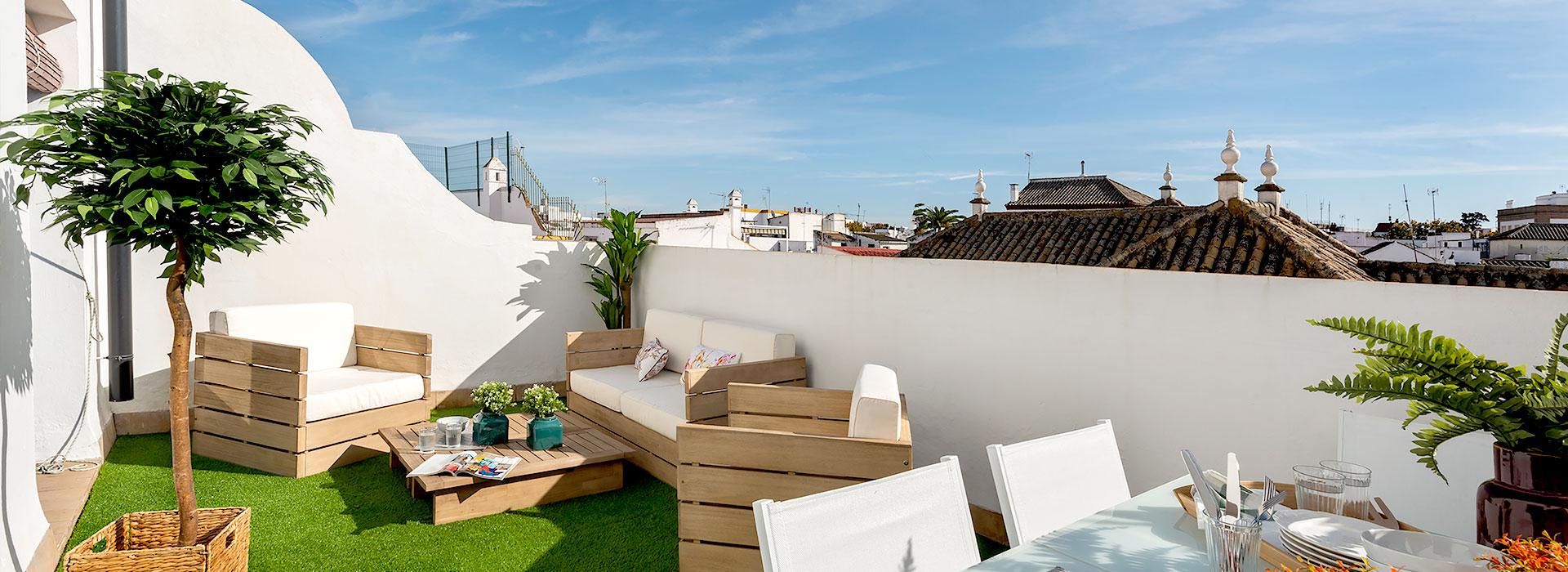 Ático de lujo en Sevilla