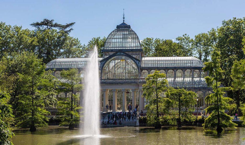 Palacio de Cristal en el parque El Retiro