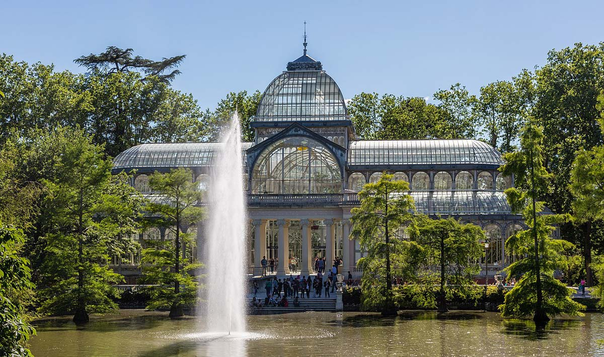 Crystal Palace in Retiro´s Park